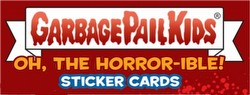 Garbage Pail Kids 2018 Oh The Horror-ible Sticker Cards Collector Edition Case [Hobby/Ser 2/8 boxes]