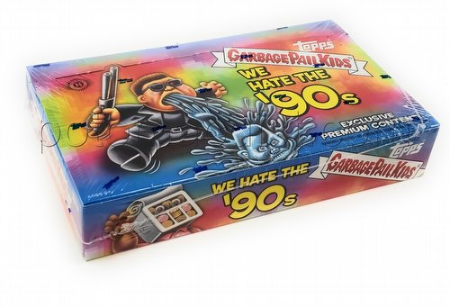 Garbage Pail Kids 2019 We Hate the 90s Sticker Cards Collector Edition Box [Hobby/Series 1]