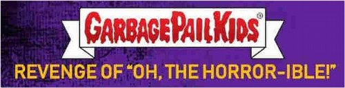 """Garbage Pail Kids 2019 Revenge of """"Oh, the Horror-ible!"""" Sticker Cards Box [Hobby/Series 2]"""