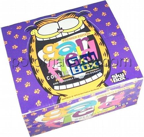 Garfield Trading Cards Box [Skybox]