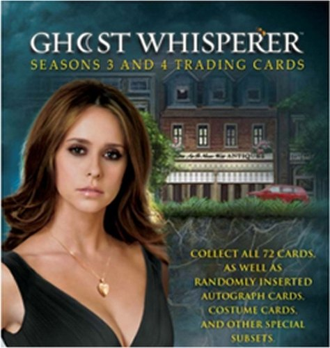 Ghost Whisperer Seasons 3 & 4 Trading Cards Box Case [12 boxes]