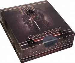 Game of Thrones: Season One Trading Cards Box