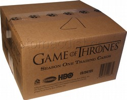 Game of Thrones: Season One Trading Cards Box Case [12 boxes]