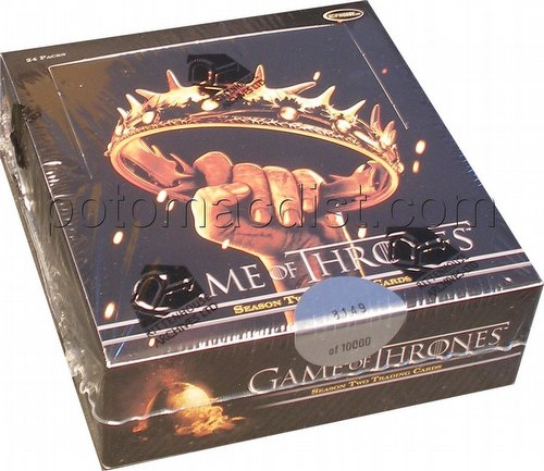 Game of Thrones: Season Two Trading Cards Box