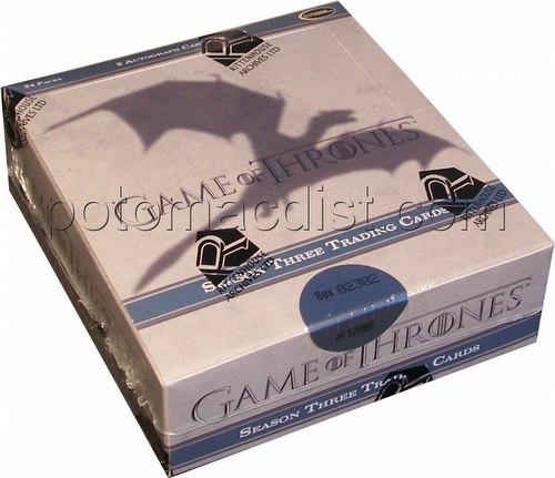 Game of Thrones: Season Three Trading Cards Box