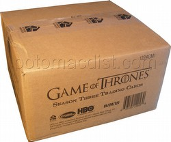Game of Thrones: Season Three Trading Cards Box Case [12 boxes]