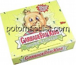 Garbage Pail Kids All New Series 1 Gross Stickers Box [2003/No Gum]
