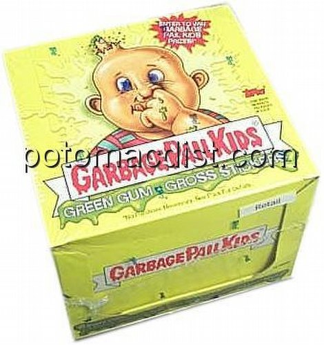 Garbage Pail Kids All New Series 1 [2003] Gross Stickers Box [with Gum]