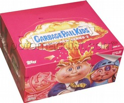 Garbage Pail Kids Brand New Series 2 [2013] Gross Stickers Box [Hobby]