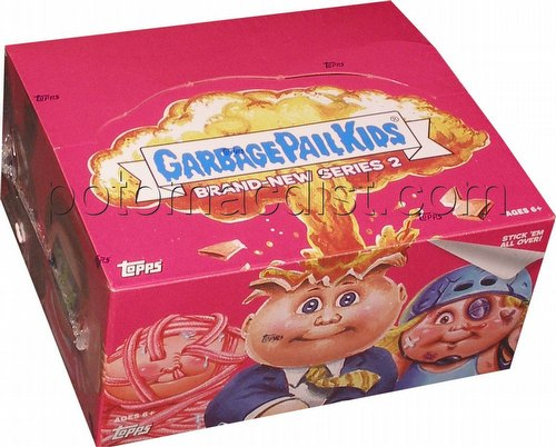 Garbage Pail Kids Brand New Series 2 [2013] Gross Stickers Box [Retail]
