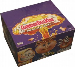 Garbage Pail Kids Brand New Series 3 [2013] Gross Stickers Box [Hobby]