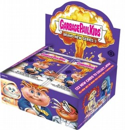 Garbage Pail Kids Brand New Series 3 [2013] Gross Stickers Case [Hobby/8 boxes/Factory Sealed]
