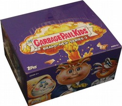Garbage Pail Kids Brand New Series 3 [2013] Gross Stickers Box [Retail]