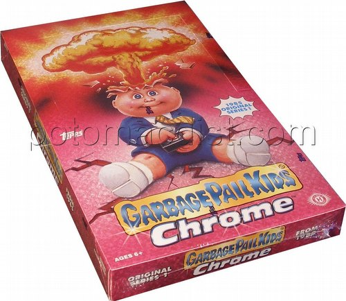 Garbage Pail Kids Chrome Original Series 1 Trading Cards Box [Hobby]