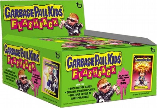Garbage Pail Kids Flashback Series 1 Gross Stickers Box [Hobby]