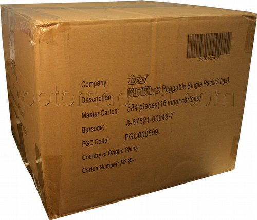 Garbage Pail Kids Minikins Series 1 Mini Figures Box Case [16 boxes]