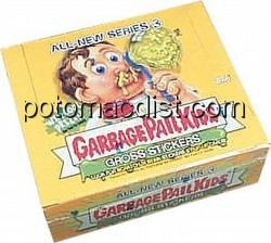 Garbage Pail Kids All New Series 3 [2004] Gross Stickers Box [Hobby]