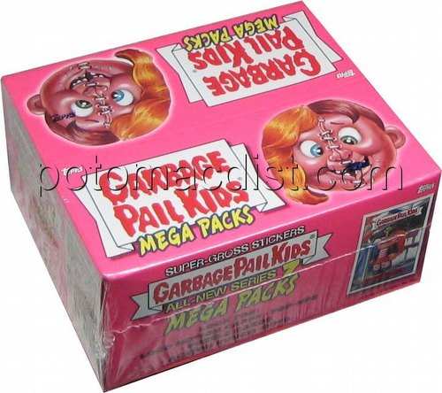 Garbage Pail Kids All New Series 7 Mega Packs Gross Stickers Box [Retail/2007]