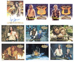 Hercules: The Movies Expansion Trading Cards Set