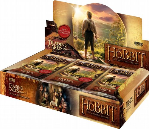 The Hobbit: An Unexpected Journey Trading Cards Box