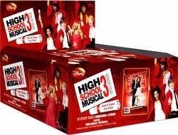 High School Musical 3: Senior Year Trading Cards & Stickers Box Case [8 boxes]