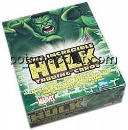 Incredible Hulk Trading Cards Box [Topps]