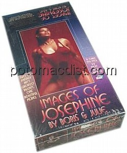 Images of Josephine Trading Cards Box