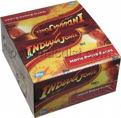 Indiana Jones and the Kingdom of the Crystal Skull Trading Cards Box [Hobby]