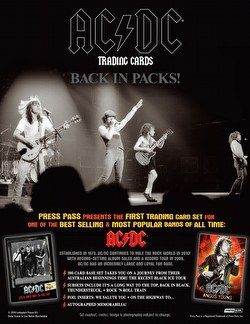AC/DC: High Voltage Trading Card Box