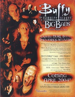 Buffy the Vampire Slayer Big Bads Trading Cards Box Case [12 boxes]