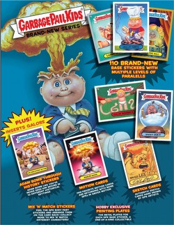 Garbage Pail Kids Brand New Series 1 [2012] Gross Stickers Case [Hobby/8 boxes]