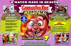Garbage Pail Kids Series 7 Mega Packs [2007] Gross Stickers Box Case [Hobby/8 boxes]