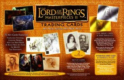 Lord of the Rings Masterpieces II Trading Cards Box Case [Hobby/8 boxes]