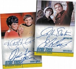 Star Trek: The Original Series Heroes & Villains Trading Cards Box