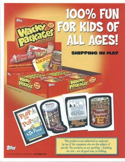 Wacky Packages All New Series 1 Stickers Box [Topps/2004]