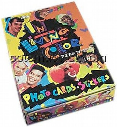 In Living Color Trading Cards Box