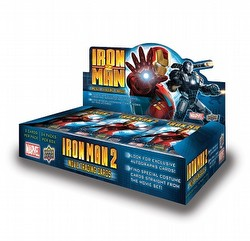 Iron Man Movie 2 Trading Cards Box Case [12 boxes]
