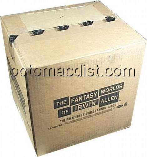 Fantasy Worlds of Irwin Allen Trading Cards Box Case [12 boxes]