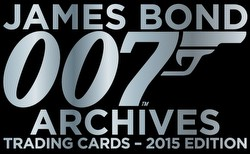 James Bond Archives 2015 Edition Trading Cards Binder Case [4 binders]
