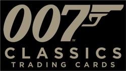 James Bond Archives 2016 007 Classics Trading Cards Binder Case [4 binders]