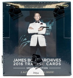James Bond Archives 2016 SPECTRE Edition Trading Cards Box