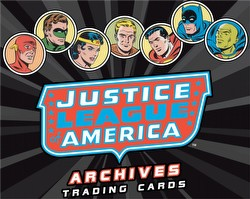 Justice League of America Archives Trading Cards Binder Case [4 binders]