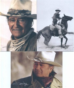 John Wayne Trading Cards Box Case [12 boxes]