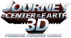 Journey to the Center of the Earth 3D Premium Trading Cards Box Case [12 boxes]