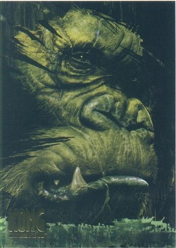 King Kong Movie Trading Cards Box Case [Topps/2005/8 boxes]