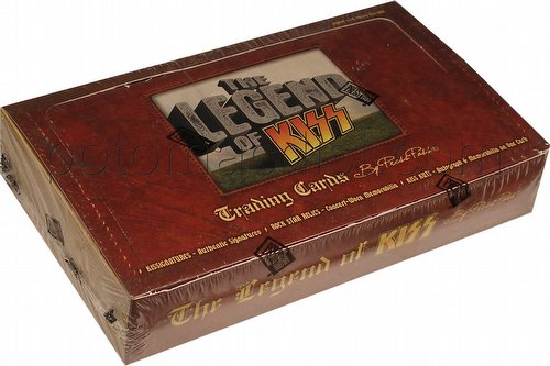 The Legend of Kiss Trading Cards Box