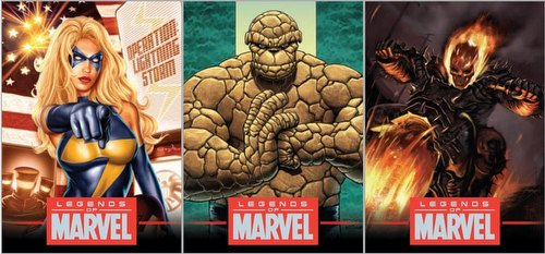 Legends of Marvel Series 4 Trading Card Set
