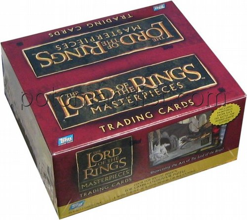 Lord of the Rings Masterpieces I Trading Cards Box [Retail]