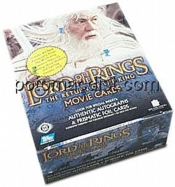 Lord of the Rings Return of the King Movie Cards Box [2nd wave]