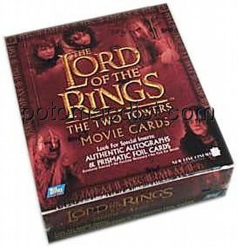 Lord/Rings Two Towers Movie Ret. (Topps)